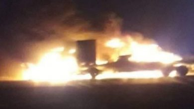 Photo of استهداف شاحنات تقل معدات للقوات الأمريكية في العراق