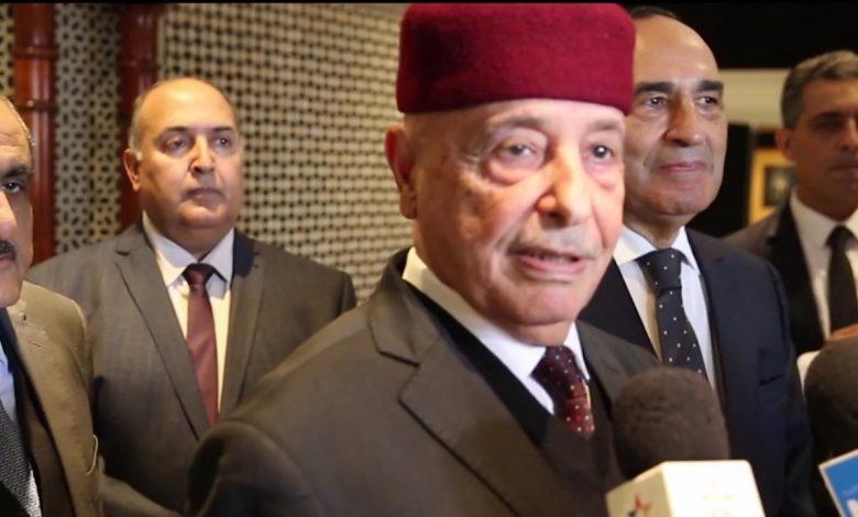 Photo of عقيلة صالح في المغرب لبحث الأزمة الليبية