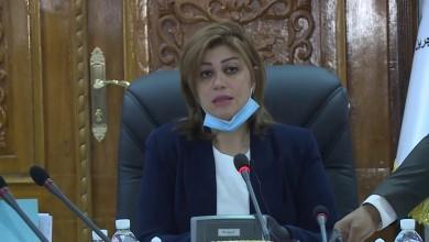 صورة إصابة وزيرة عراقية بفيروس كورونا