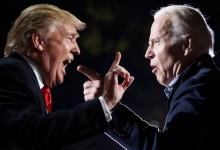 صورة الإعلان عن موعد المناظرة الأولى بين ترامب وبايدن واسم المحاور