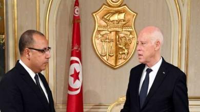 صورة تونس.. قيس سعيد غاضب من المشيشي