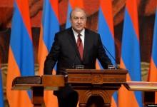 صورة رئيس أرمينيا: تركيا ارتكبت بحقنا إبادة جماعية ولن نسمح بعودة العثمانية لتكرارها